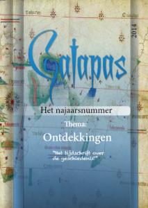 cover galapas najaar 2014 thema ontdekkingen