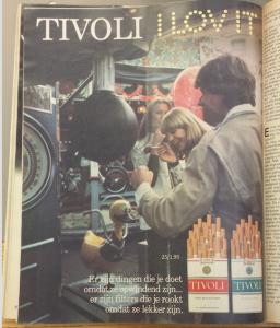 Afbeelding bij artikel 'De vrouw in bier- en sigarettenreclame'