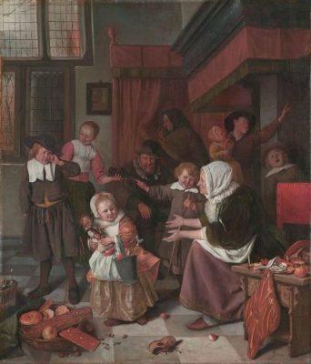 Het Sint-Nicolaasfeest, Jan Steen