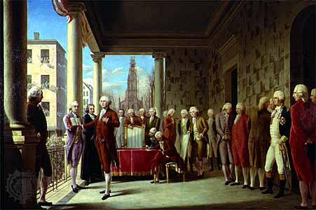Inauguratie George Washington