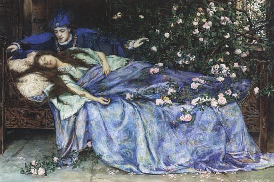 De schone slaapster door Henry Meynell Rheam