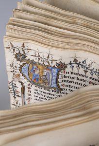 Dietse Doctrinale, Brabant, circa 1374, Collectie Koninklijke Bibliotheek Den Haag, fotografie Jos Uljee