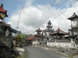 Het straatbeeld op Nusa Penida. Foto: Jasmijn Groot.
