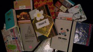Journals uit o.a. Ierland, Scandinavië en Zuid-Korea. Foto: Jasmijn Groot